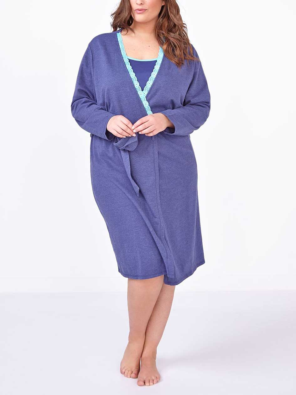 Ti Voglio Long Sleeve Sleep Robe
