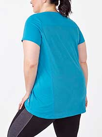 Essentials - Plus-Size Printed Reflective T-Shirt