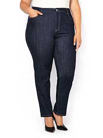 d/c JEANS Straight Fit Straight Leg Jean