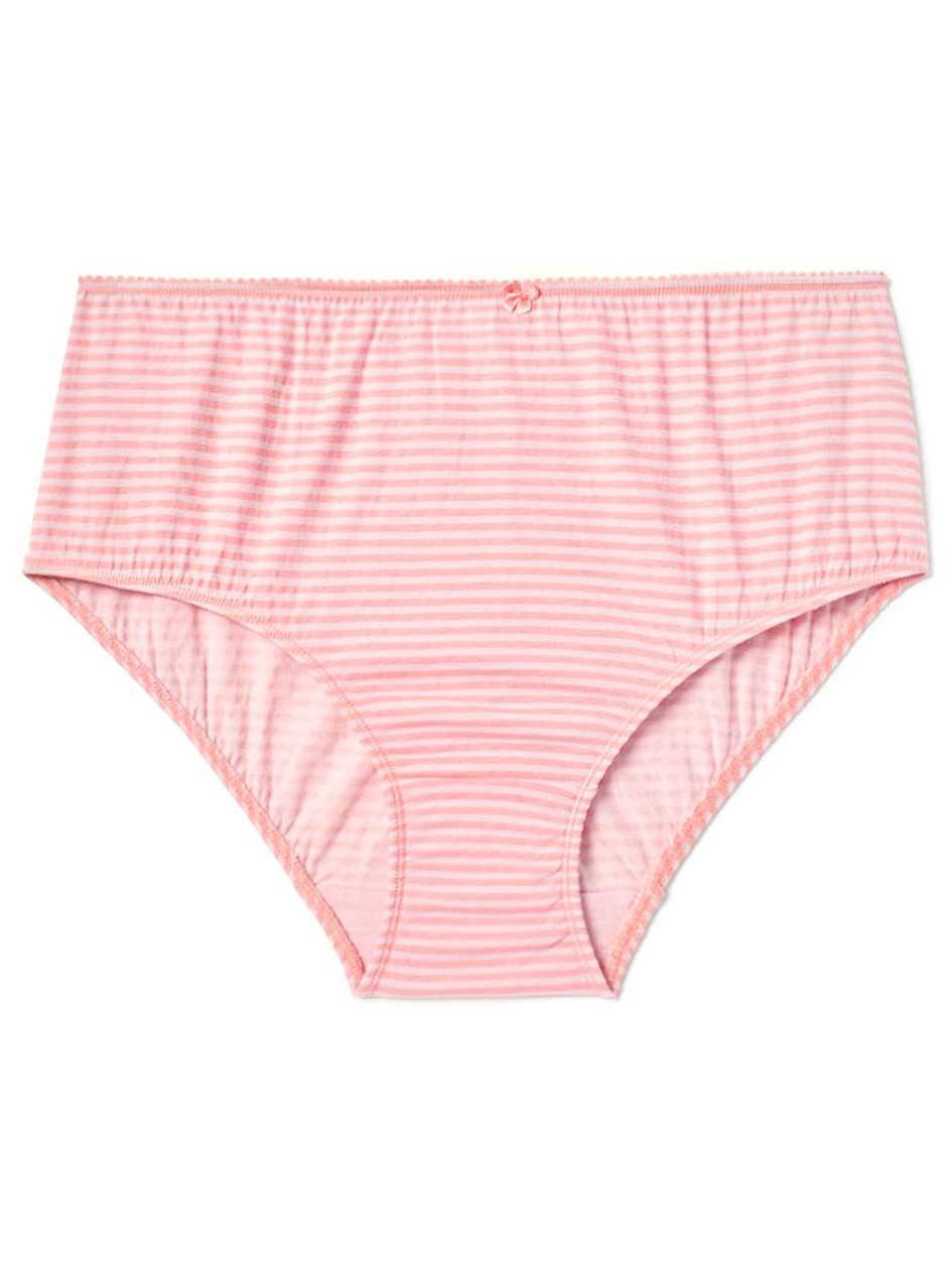 Ti Voglio Striped Cotton Brief Panty