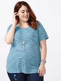 Curve Fit Basic T-Shirt