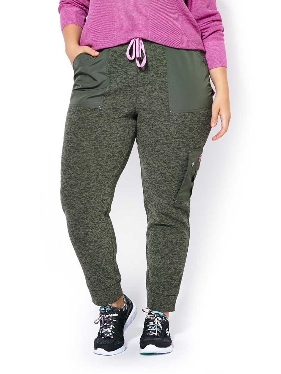 Sports - Pantalon taille plus en molleton