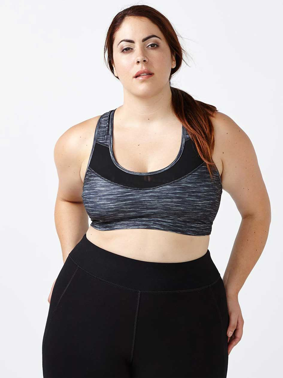 ActiveZone - Sports Bra with Mesh