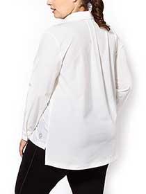 Essentials - Plus-Size Stretch Shirt