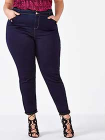 d/c JEANS Slightly Curvy Fit High Rise Skinny Jean