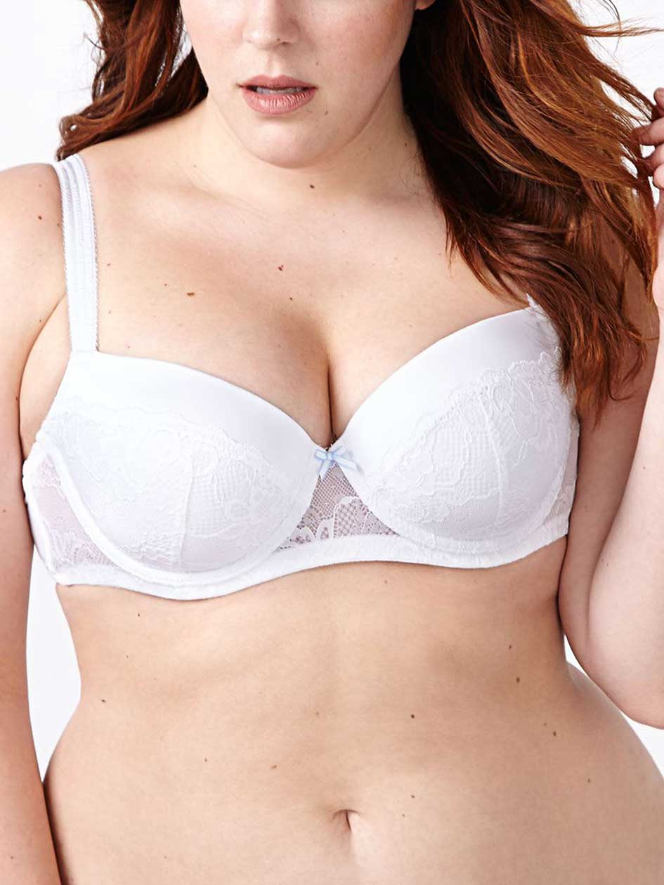 Ti Voglio Padded Demi Bra with Lace