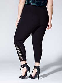 Tess Holliday - Cropped Legging with Cut Outs