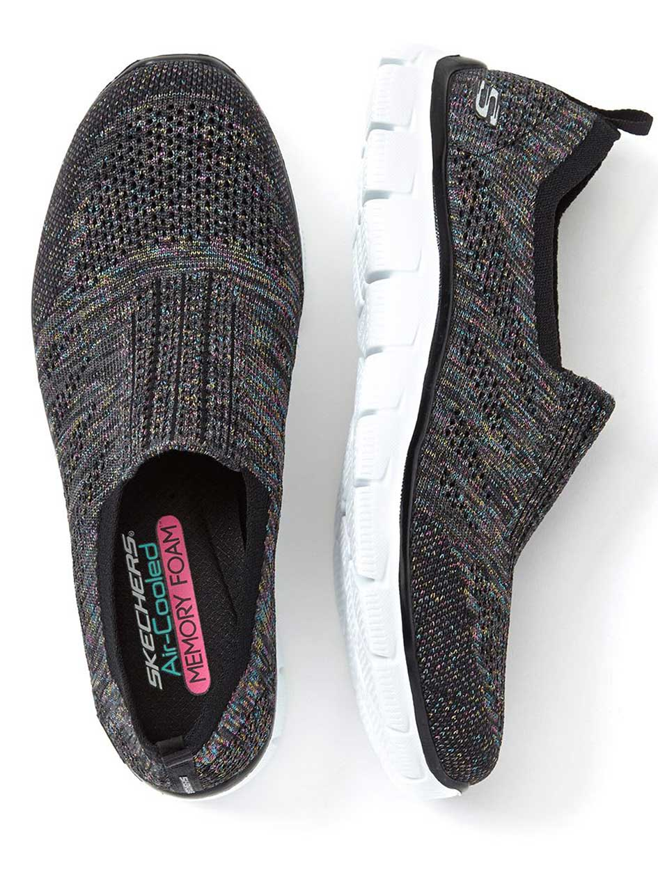 Skechers Wide-Width Slip On Sneakers