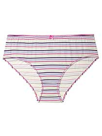 Ti Voglio Striped Cotton Hipster Panty