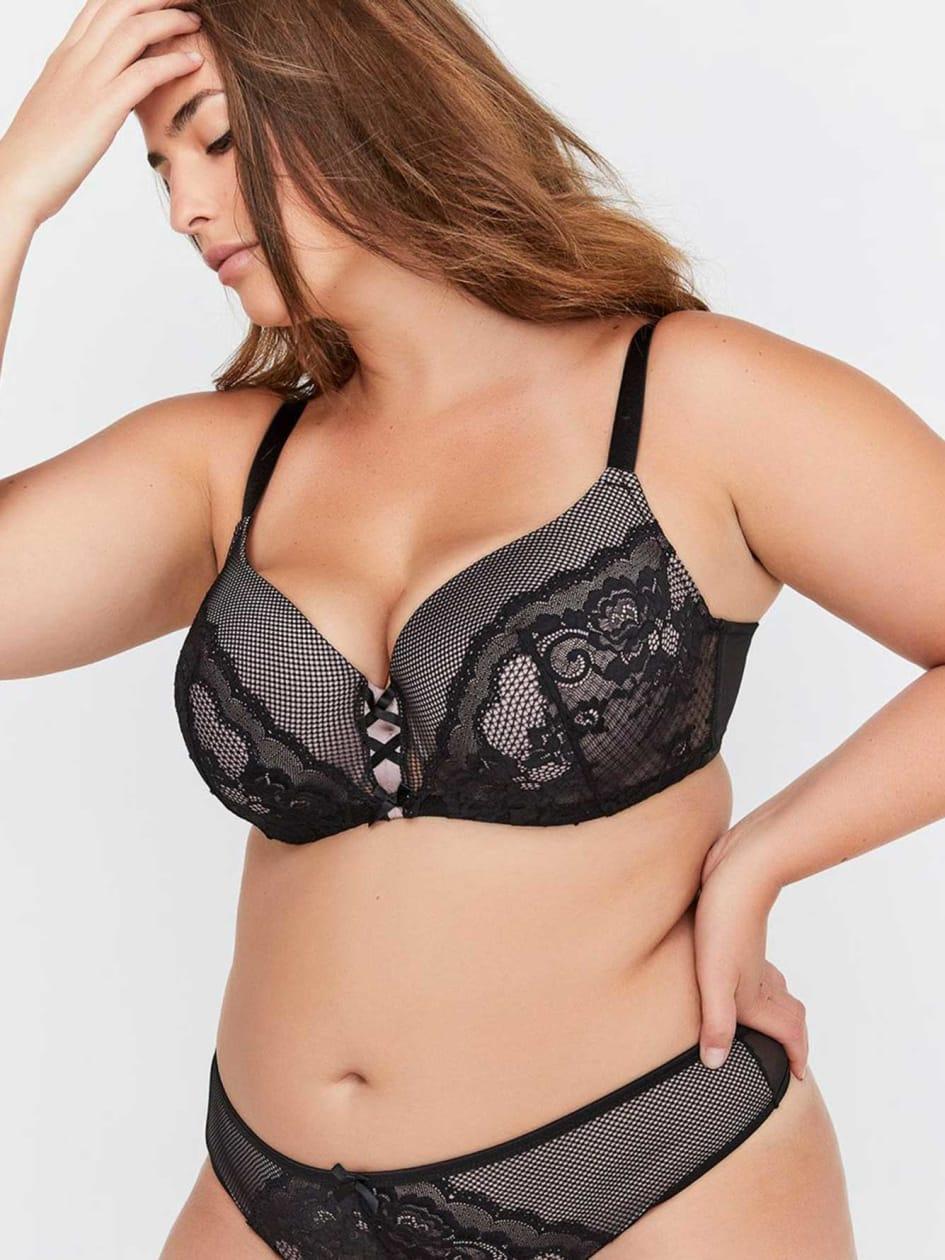 e5351087ff Contour Flirt Bra with Lace - Déesse Collection