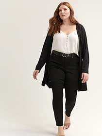 Super Soft Black Jegging - L&L