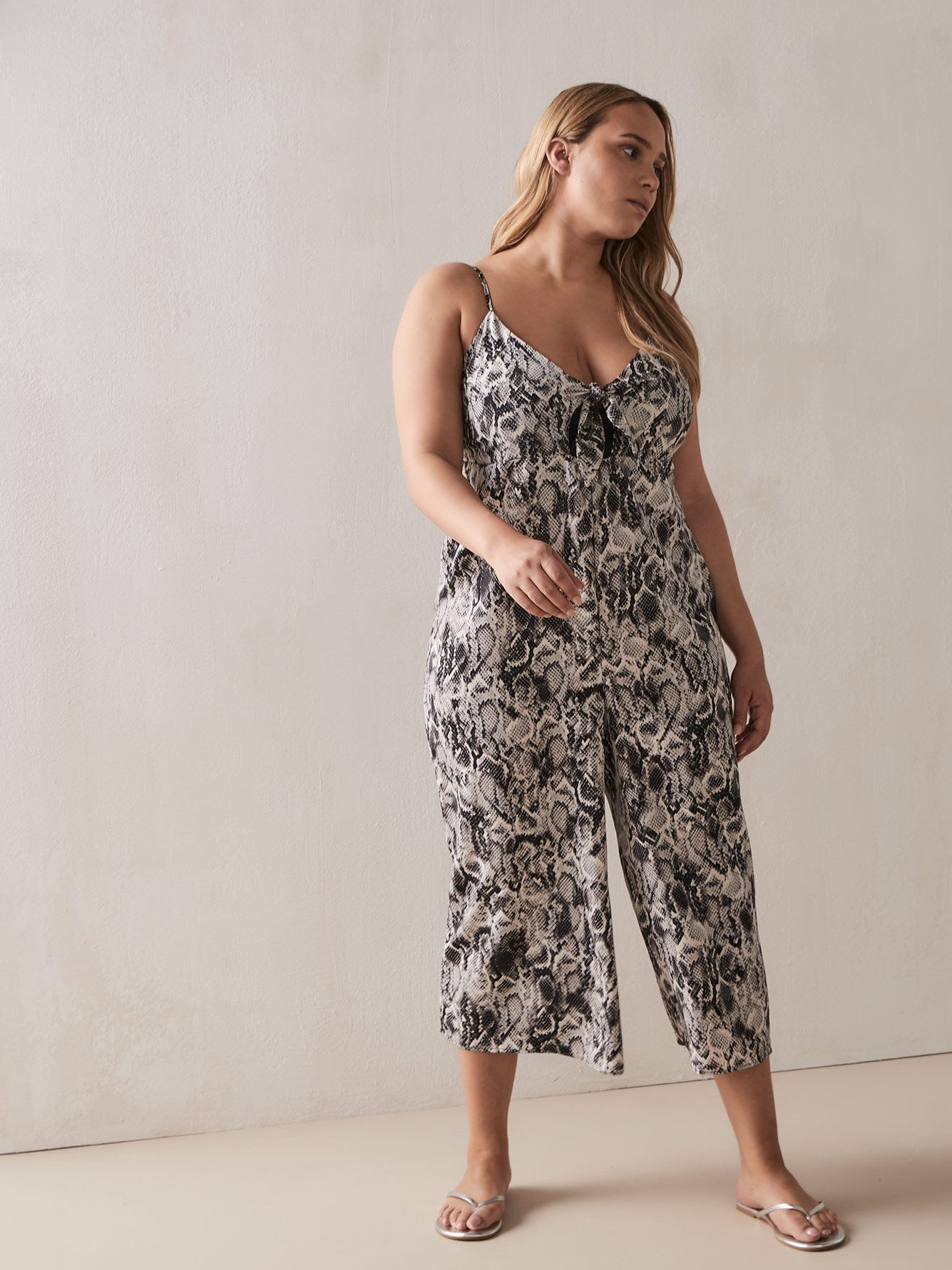 d0e4cdac96cf7 Long Printed Koshibo Cover-Up Jumpsuit - Cactus   Addition Elle