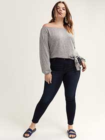 Super Soft Dark Wash Jegging - L&L