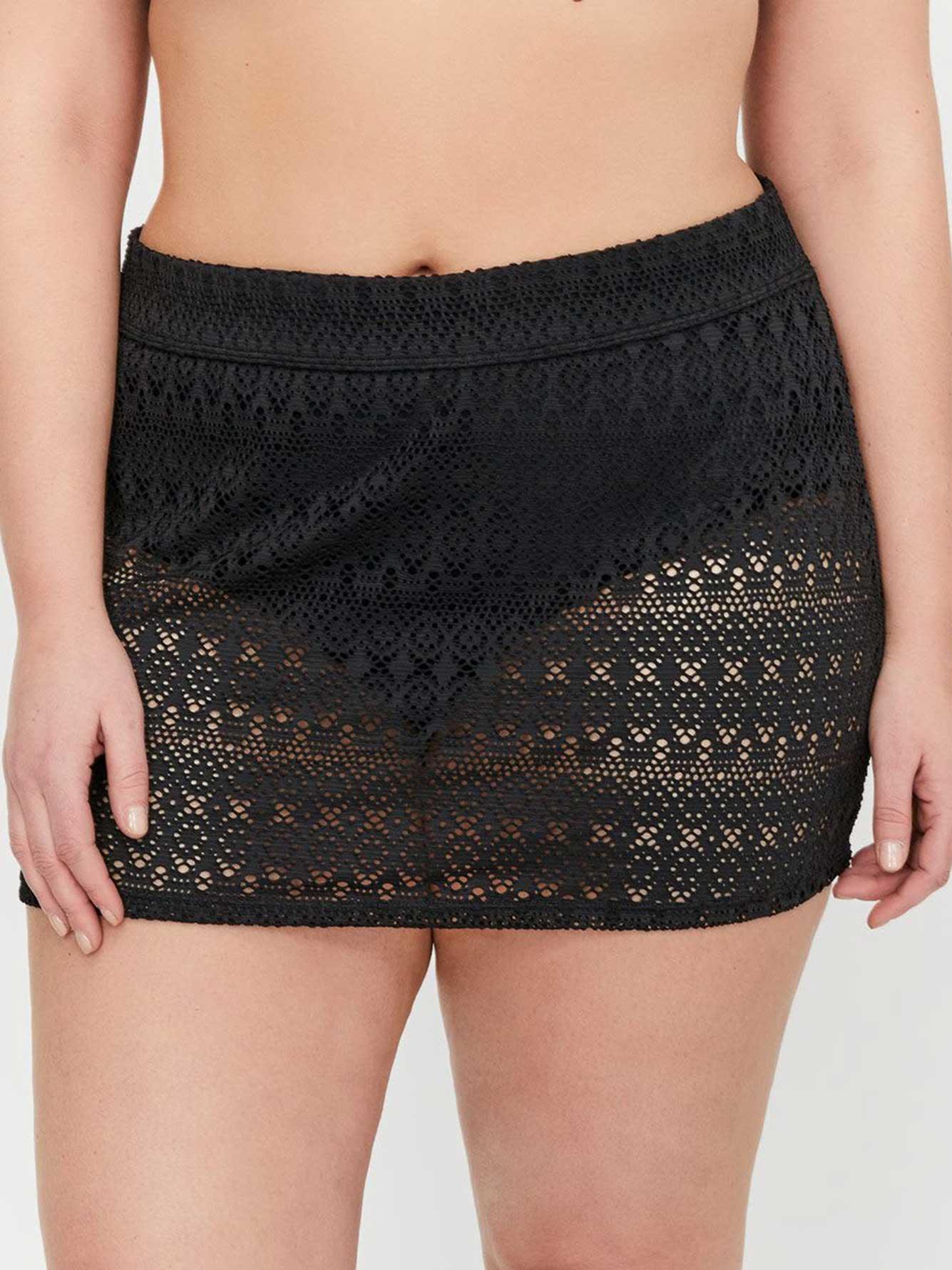 424ea22e437 Cactus High Waist Crochet Skirtini Swim Bottom