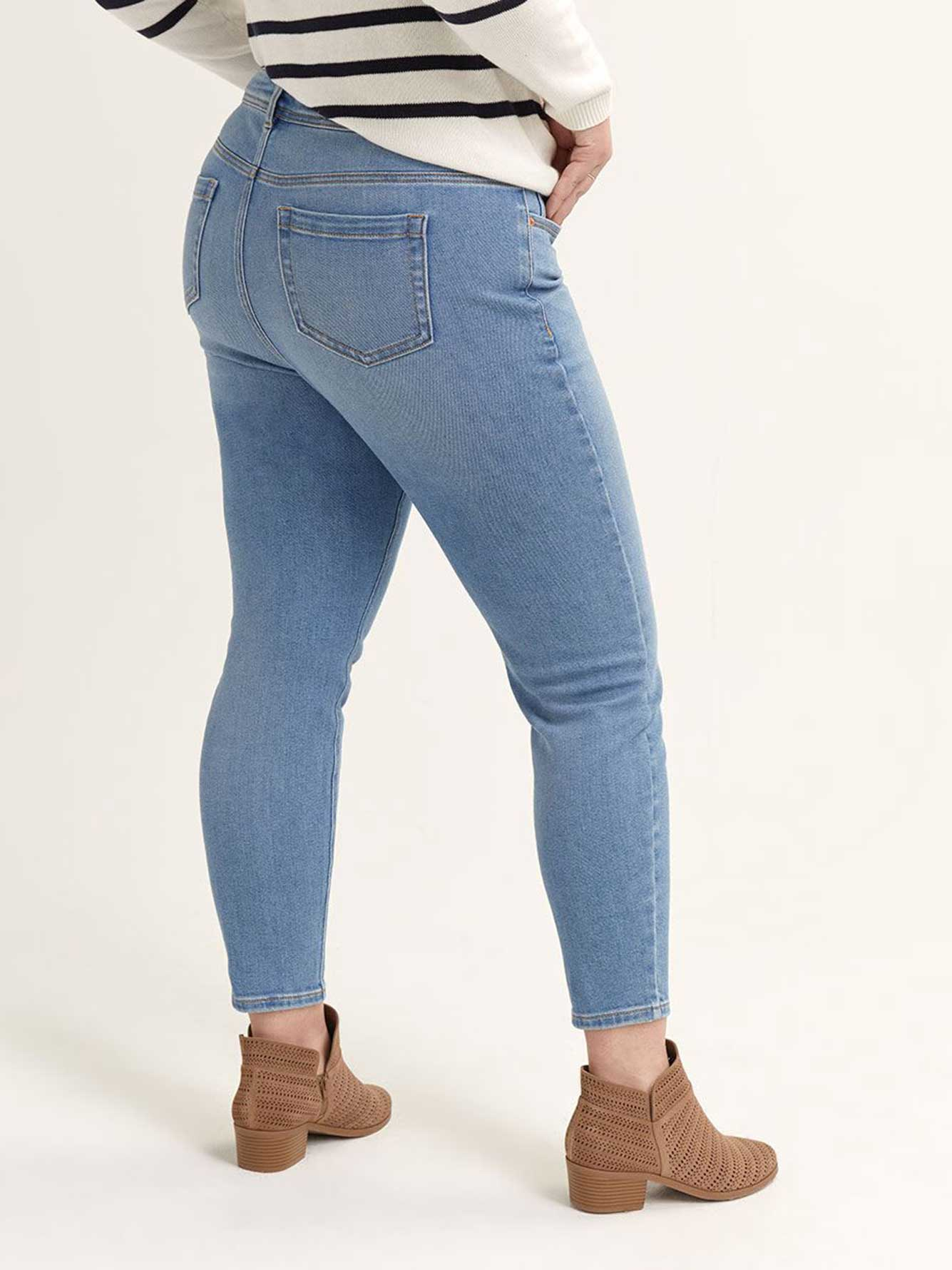 Authentic Ankle Skinny Jeans - L&L