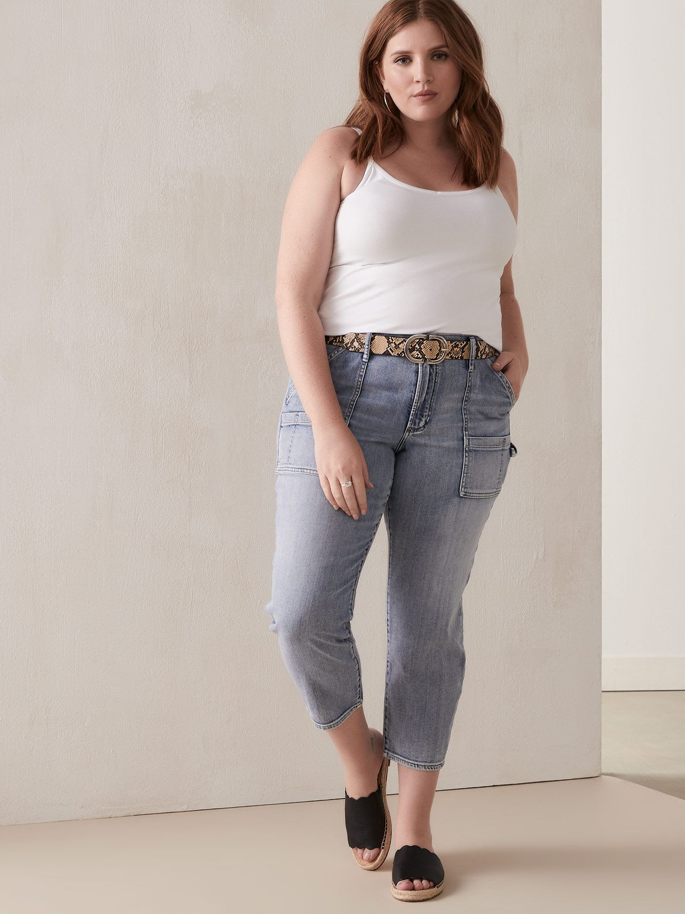 Light Wash Carpenter Jean - Silver Jeans
