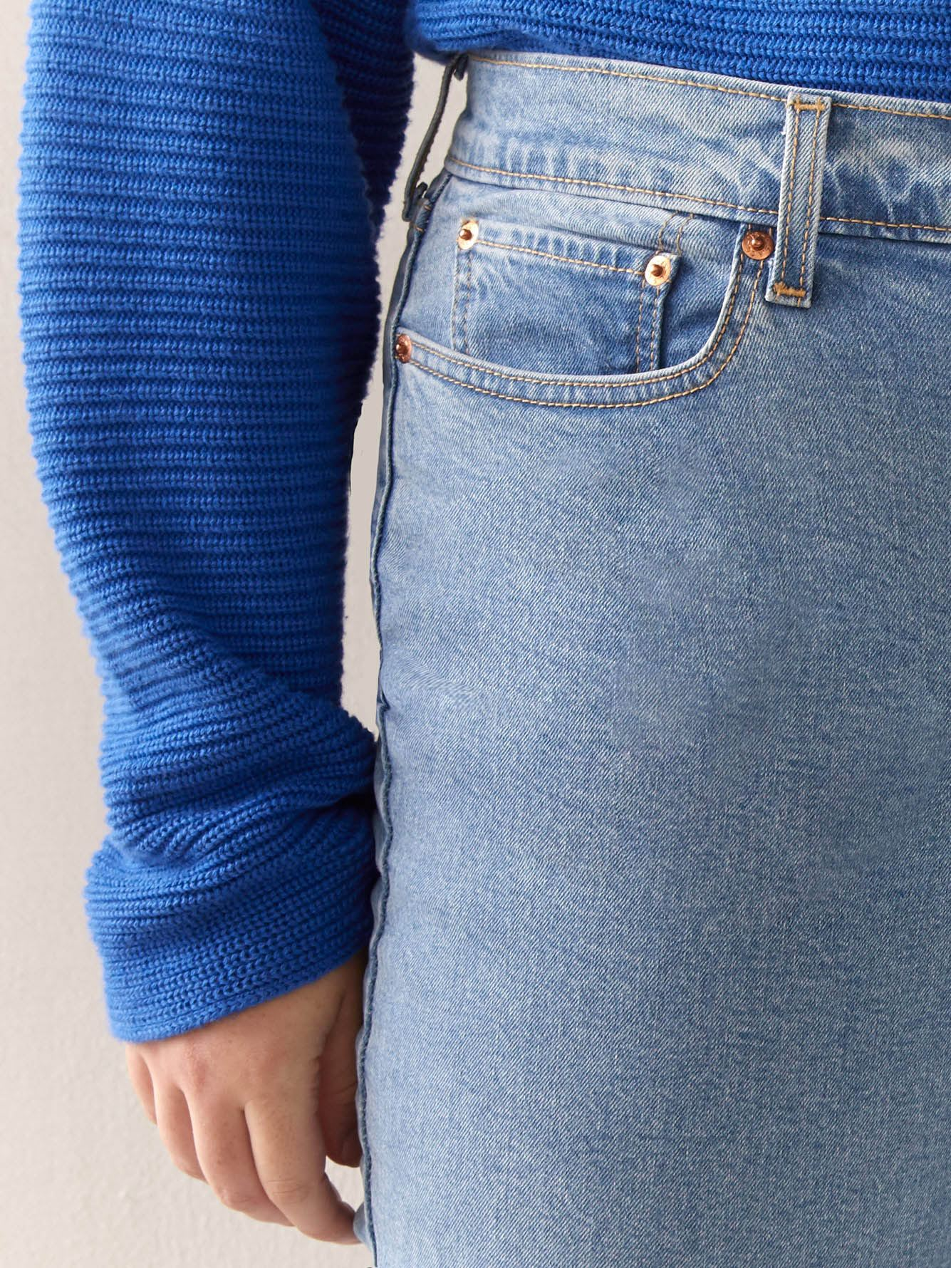 Stretchy High-Waisted Wedgie Jean - Levi's Premium