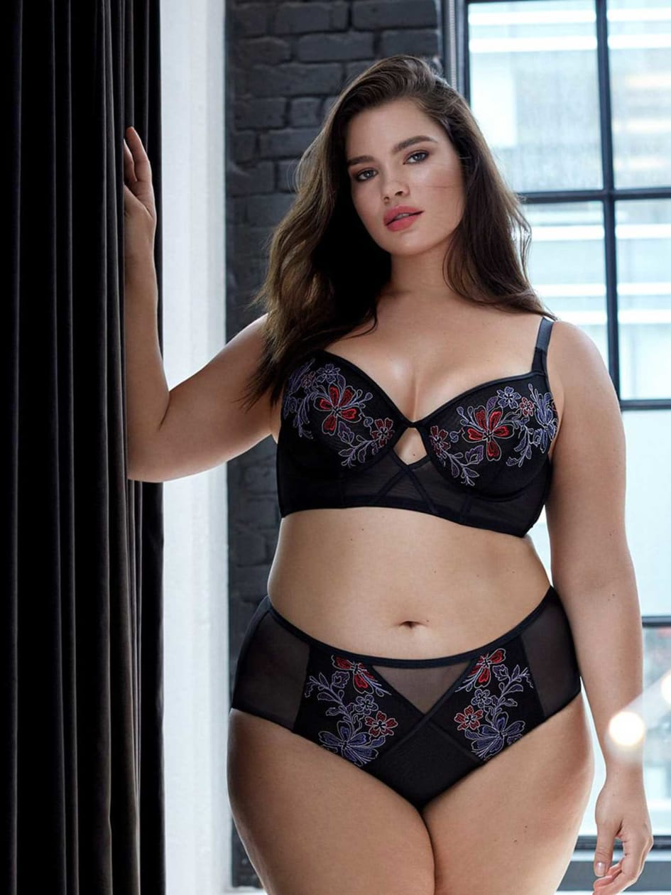 Non Padded Long Line Bra - Déesse Collection
