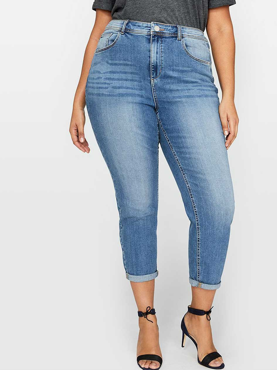 L&L High-Rise Mom Jean
