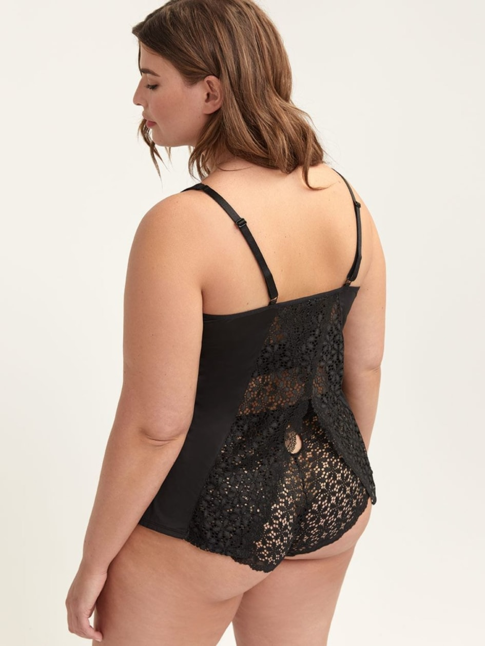 Sleep Cami with Lace - Ashley Graham