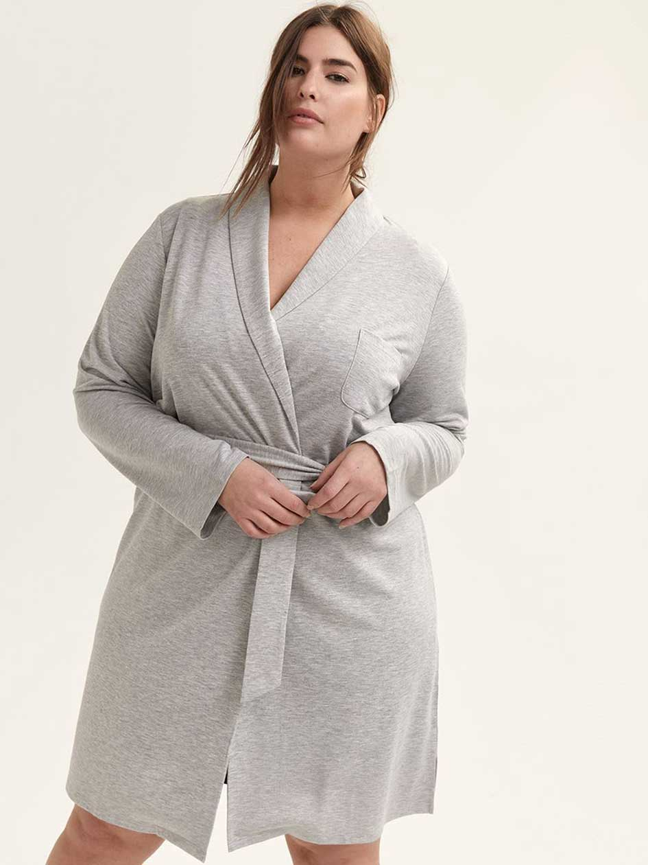 de03d2337f Ladies Full Length Quilted Dressing Gown - Aztec Stone and Reclamations