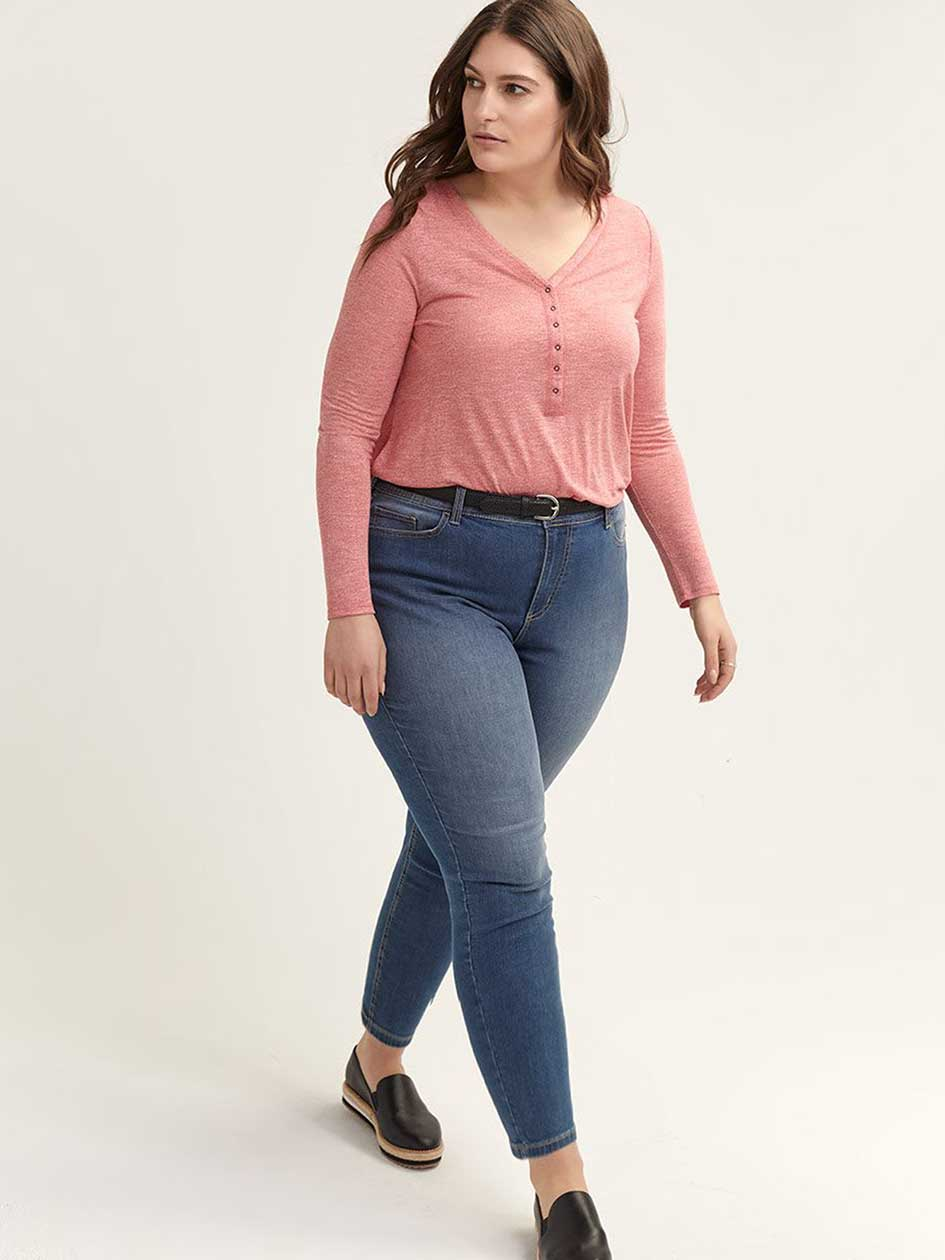 Shark-Bite Henley Top - L&L
