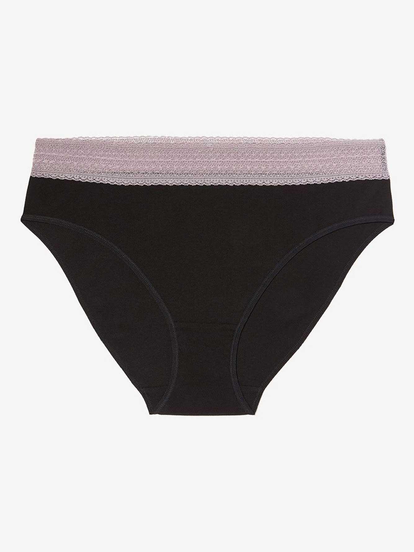 4d03a6e5b High Cut Cotton Panty with Lace - Déesse Collection