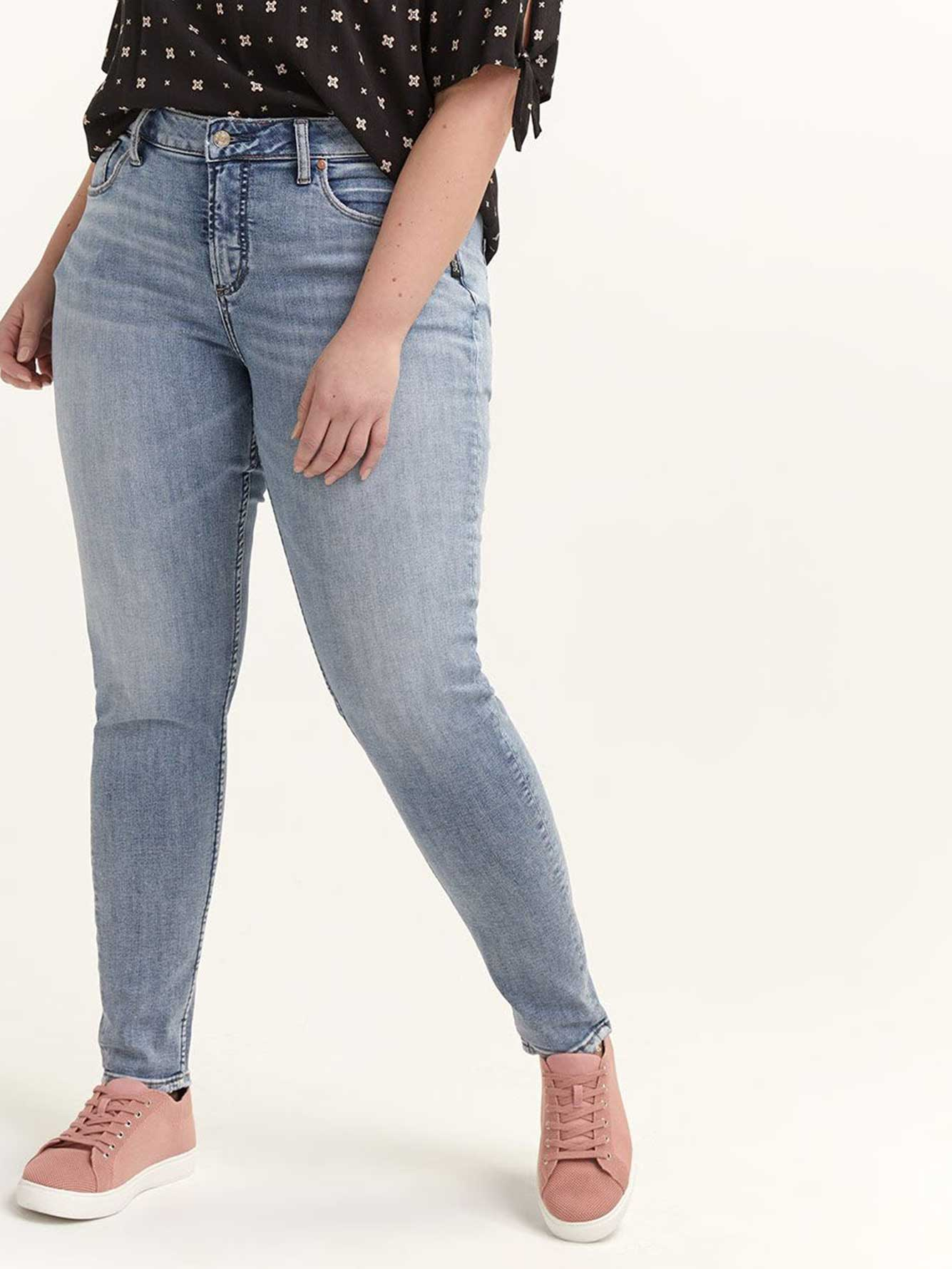 Skinny Avery Jeans - Silver Jeans