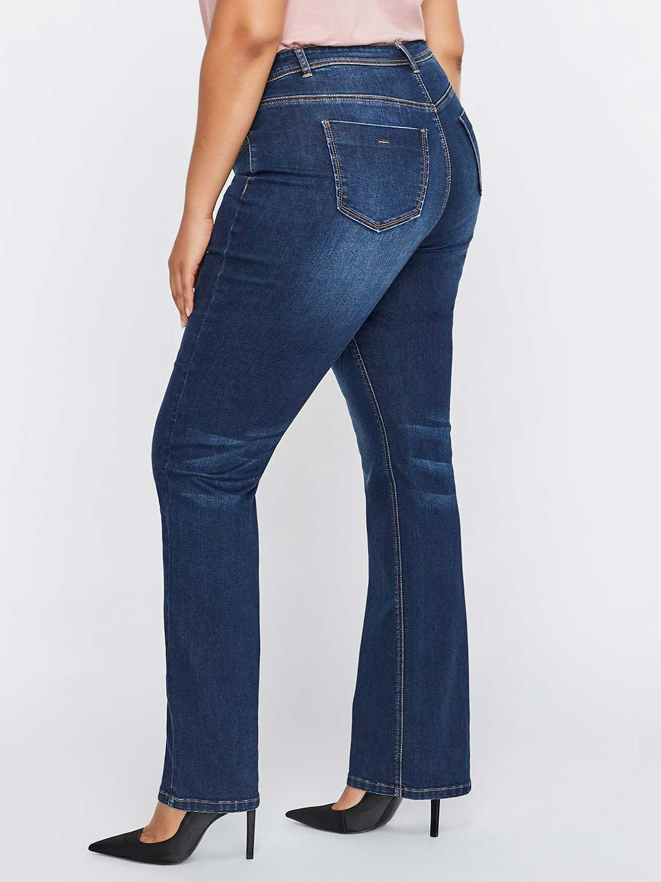 L&L Authentic Barely Bootcut Jean