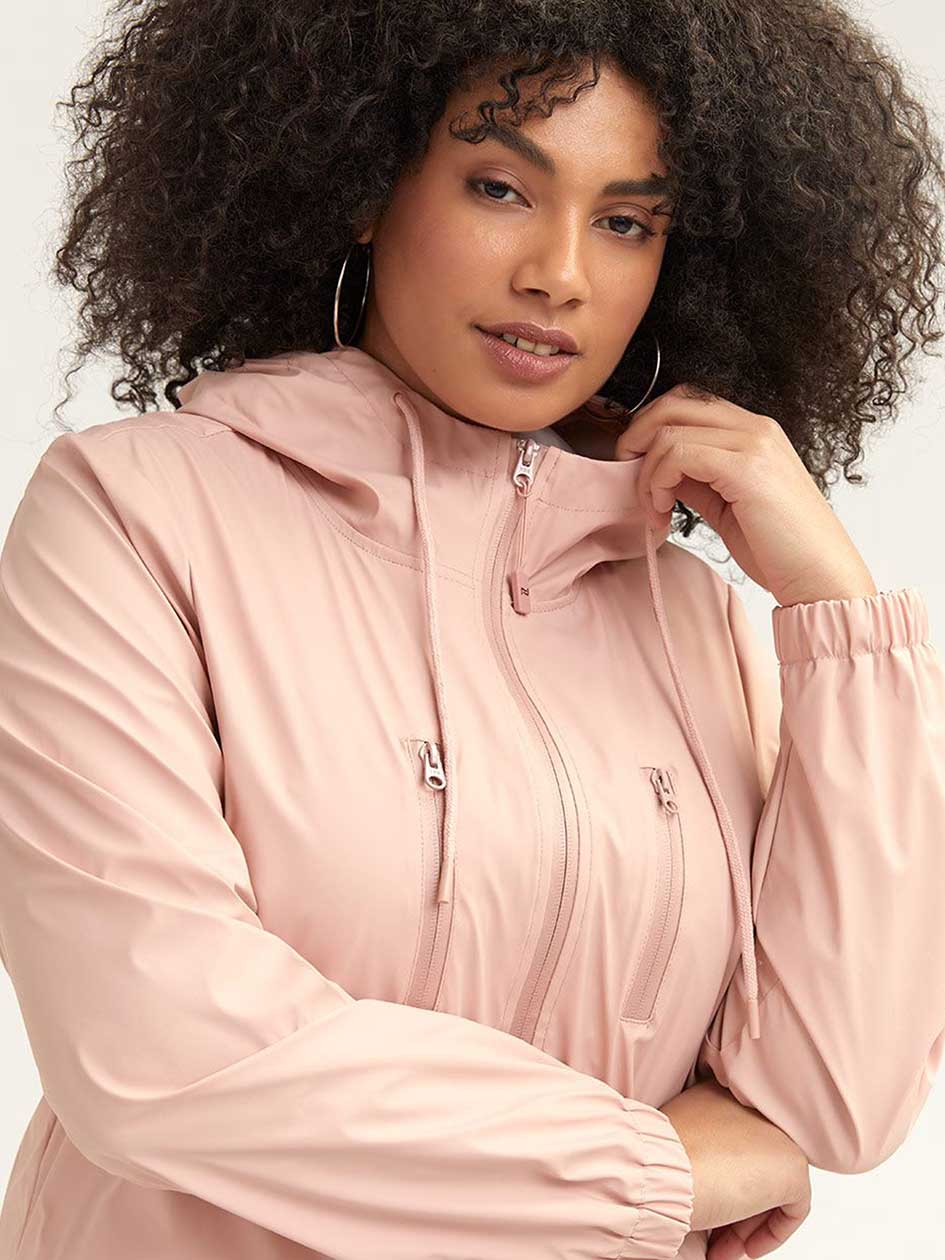 Softshell Hooded Raincoat - Michel Studio