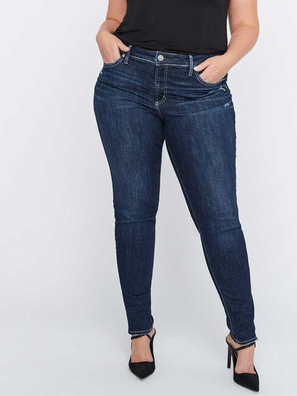 31dde3bf75f Skinny Jeans - Silver Elyse
