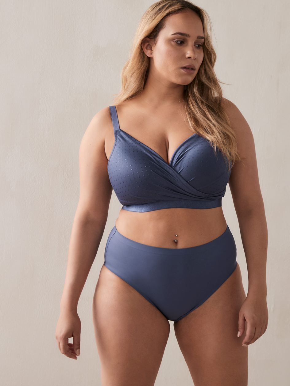 Crossover Lounge Bra - Déesse Collection