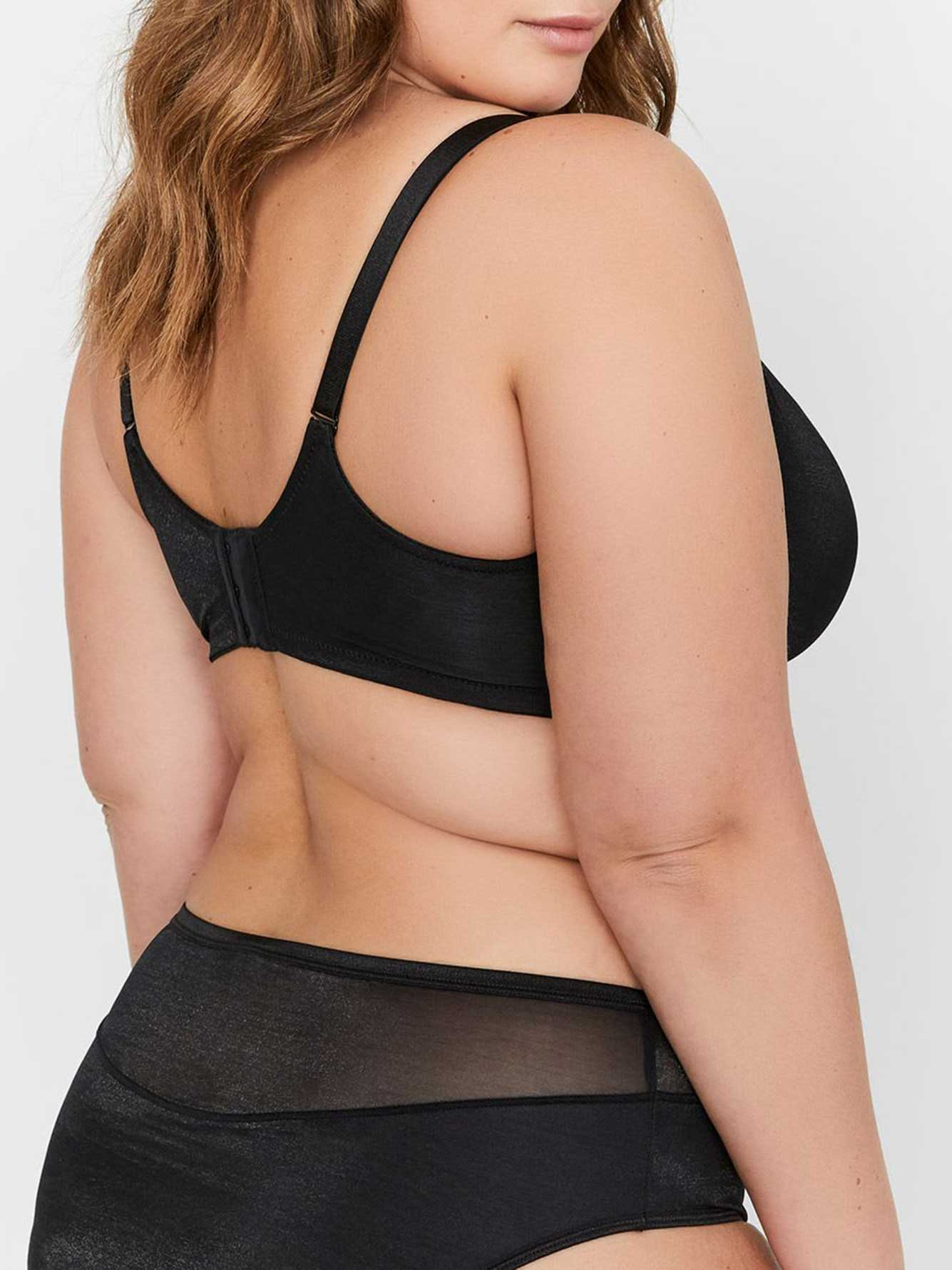 Déesse Collection - Half-Cup Convertible Bra Size G &H