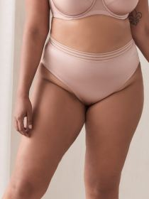 Invisible High Cut Microfiber Panty - Ashley Graham