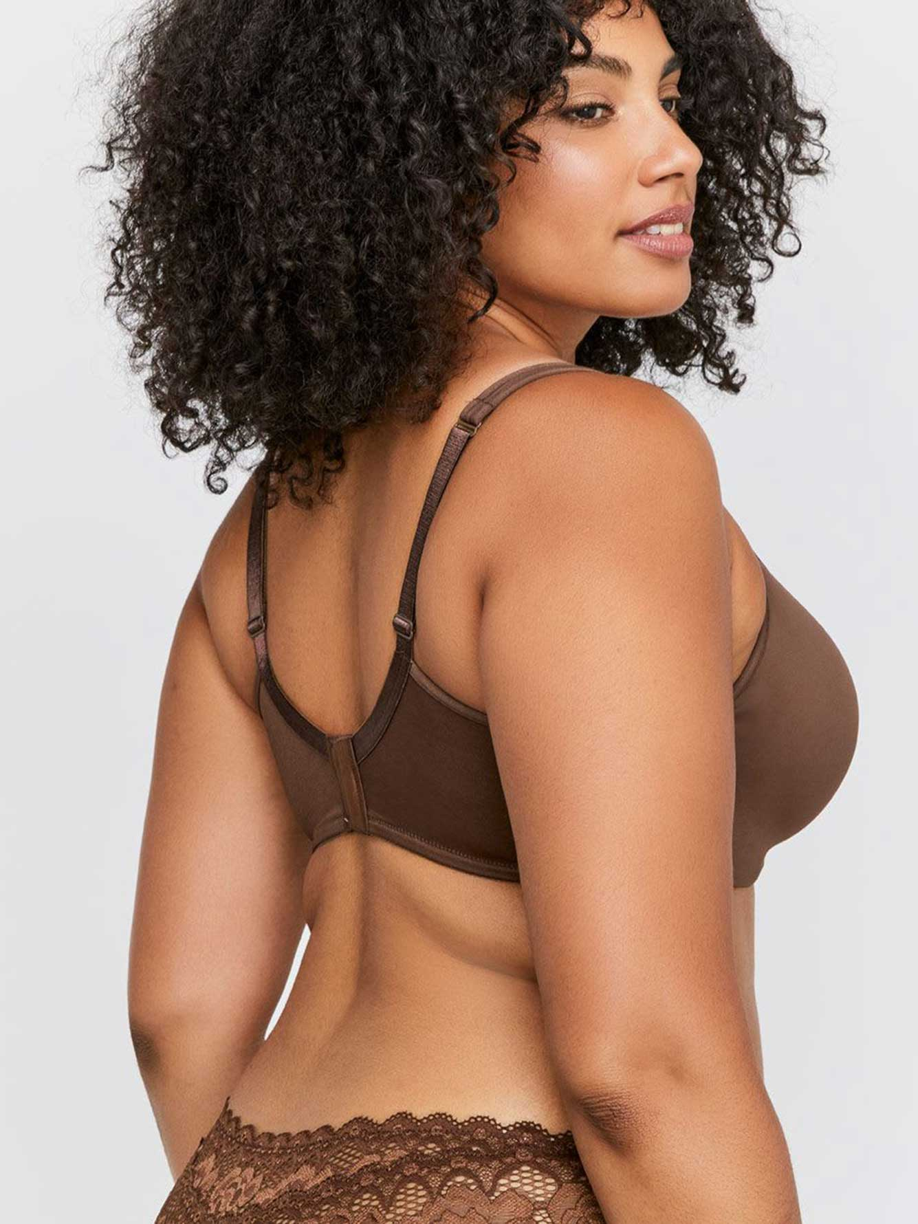 Basic Contour Underwire Bra, Sizes G & H - Déesse Collection