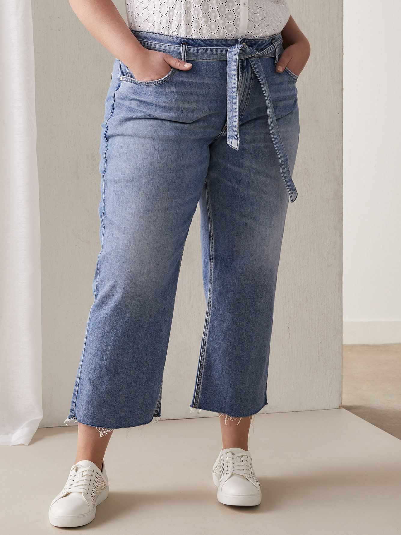 Silver Jeans - Wide Jean with Self-Tie