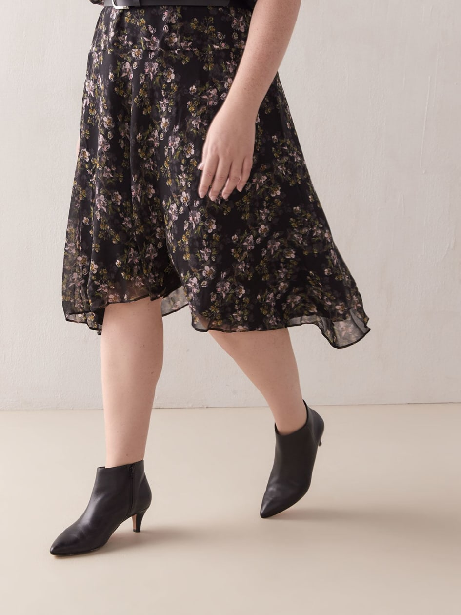 Floral Blouson Midi Dress - RACHEL Rachel Roy