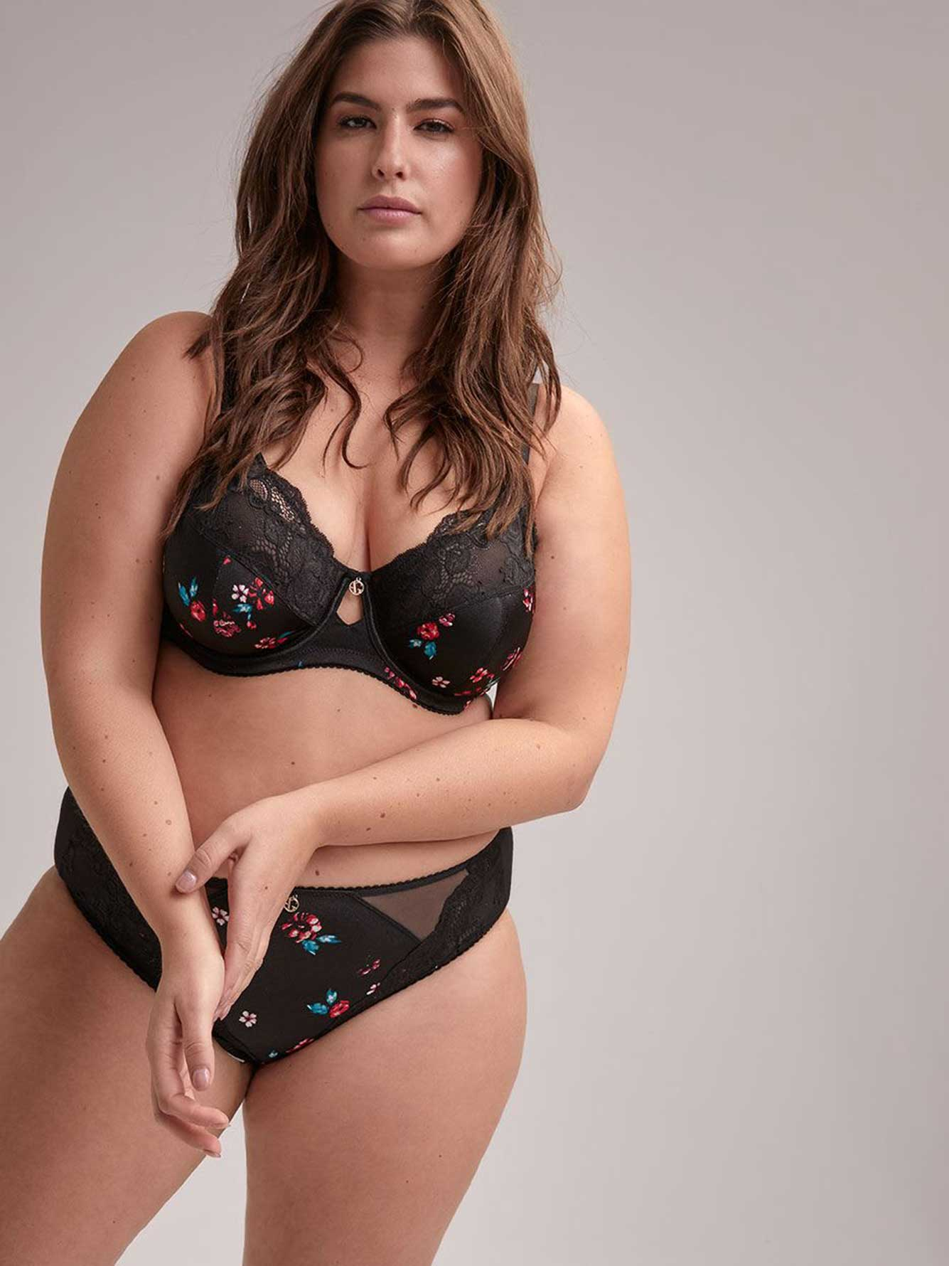 0ab507e0267 Fatal Attraction Bra with Print and Lace