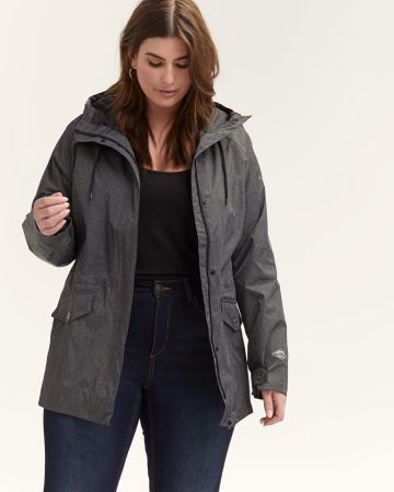 Columbia Laurelhurst-Park Heathered Black Jacket