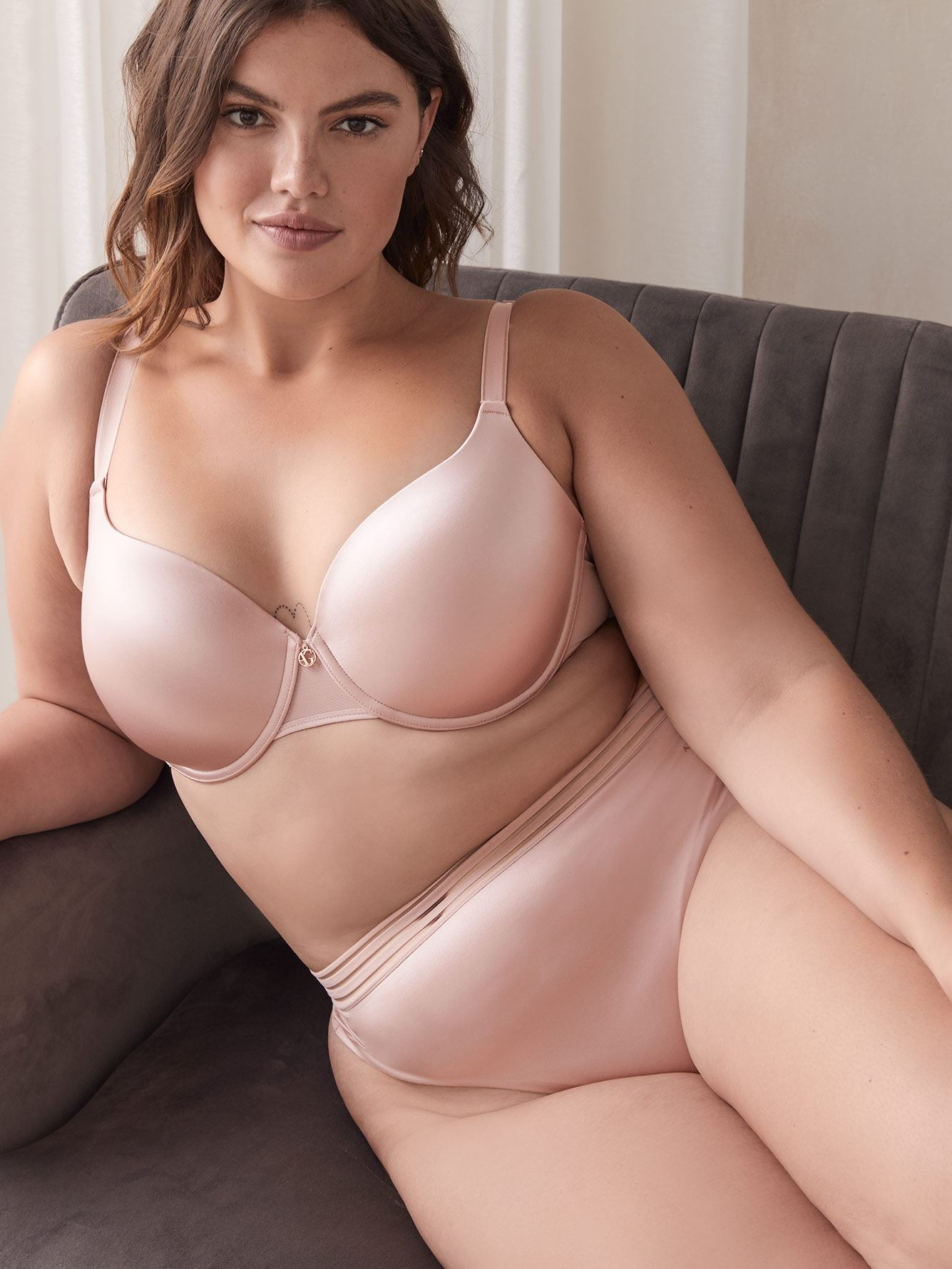 Essentials Icon T-Shirt Bra, G & H Cups - Ashley Graham