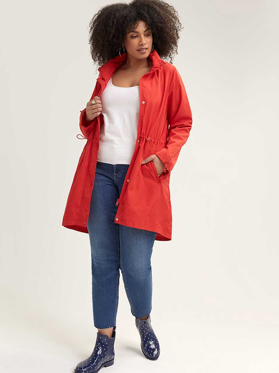 Long Packable Anorak - Michel Studio
