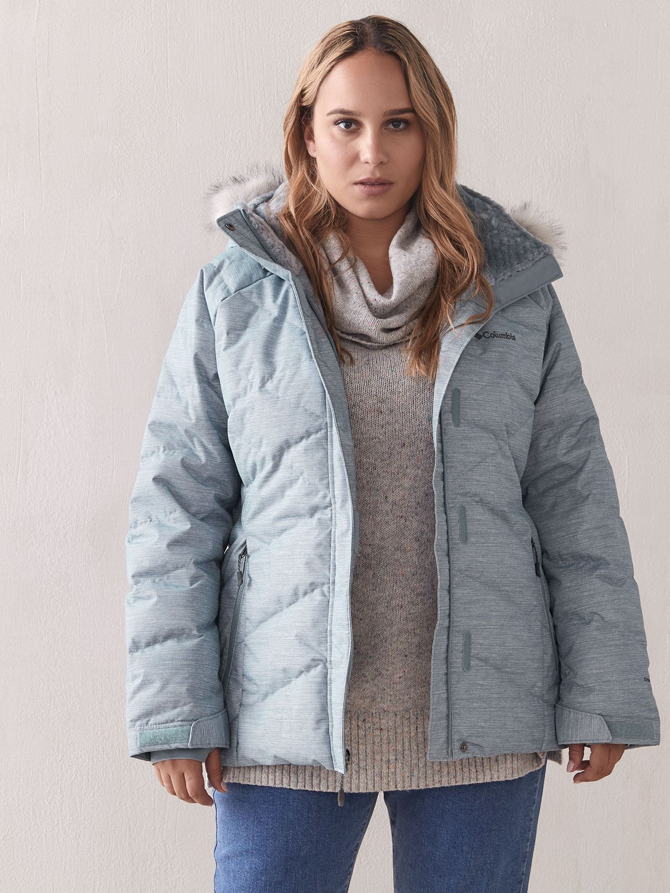 Lay D Down Coat - Columbia