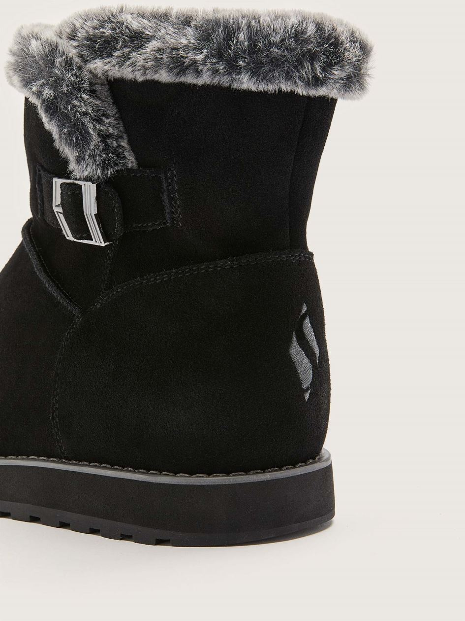 Wide Keepsakes Broken Arrow Suede Bootie - Skechers