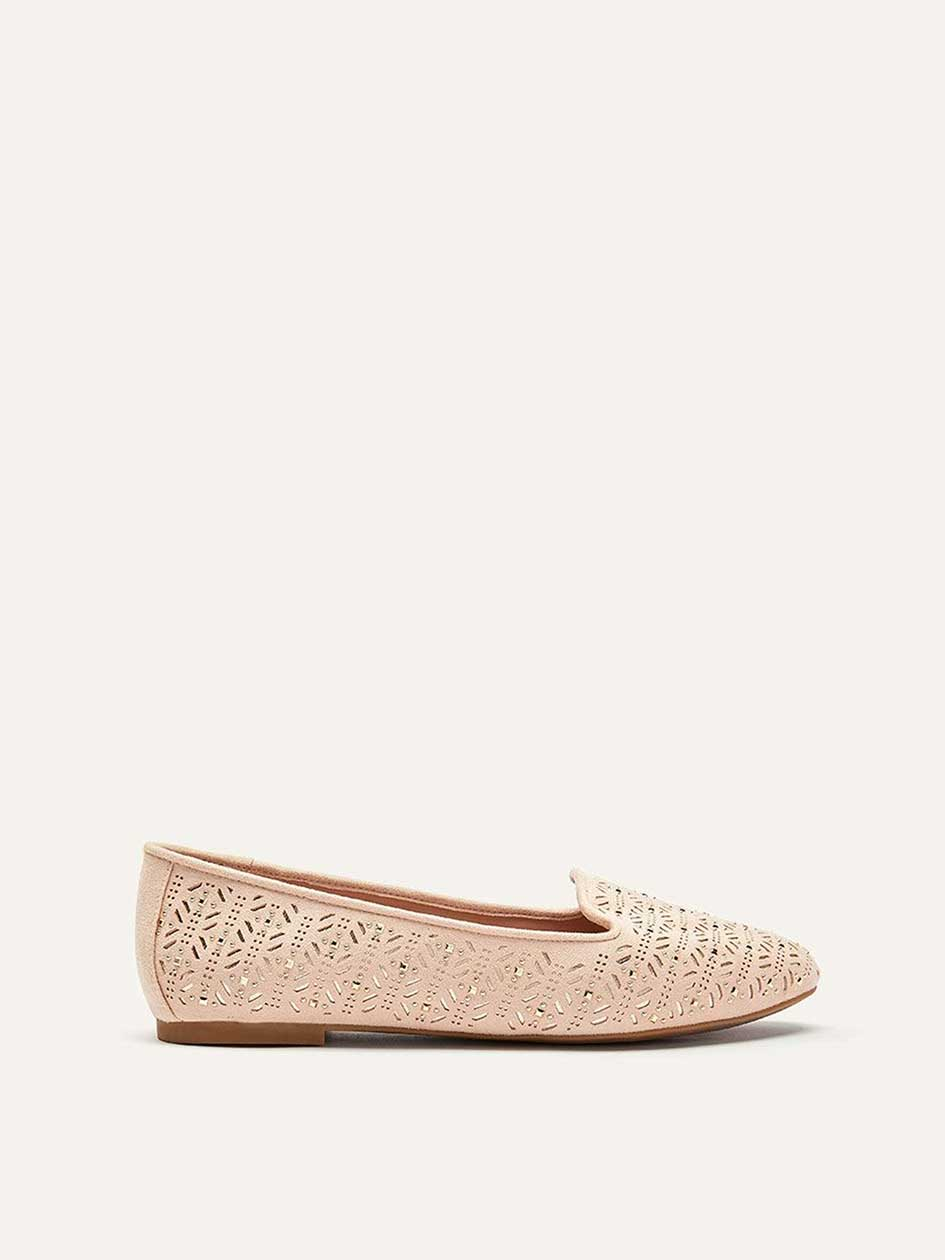Extra Wide Laser Cut Slip-On