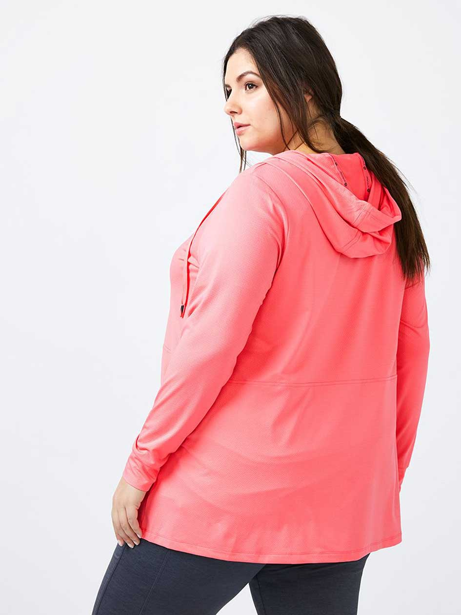 Essentials - Plus-Size A-Line Hoodie