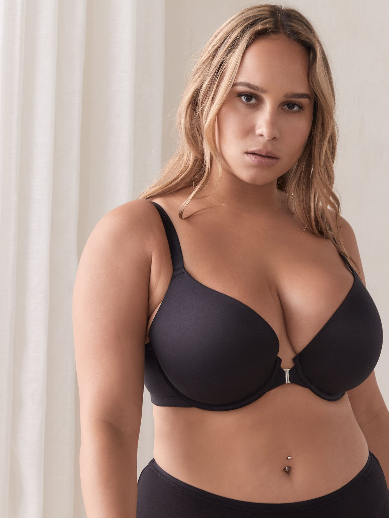 Plunge Front Closure Bra