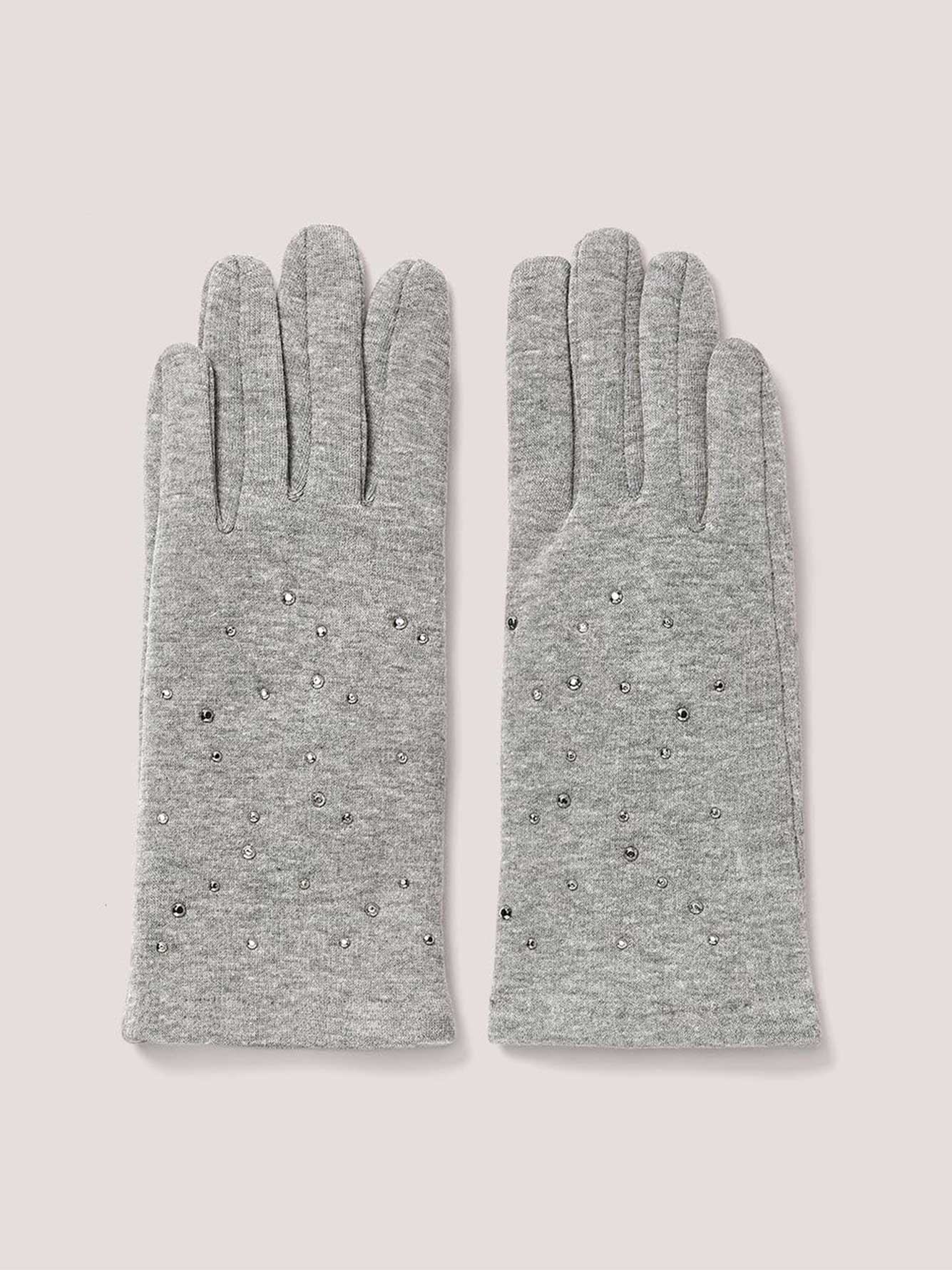Gloves with Embellishment