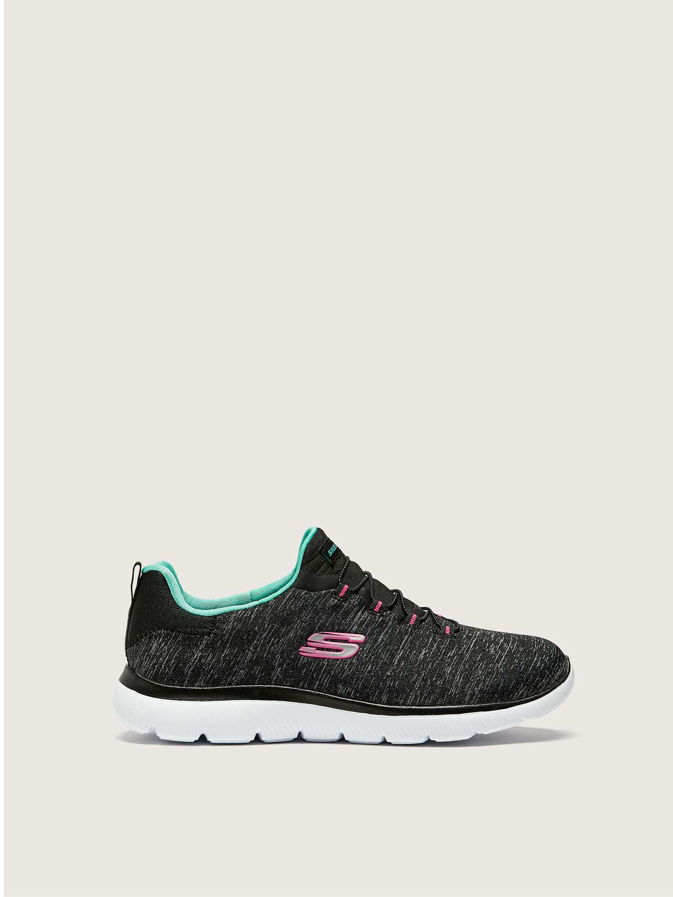 Wide Summits Quick Getaway Sneaker - Skechers