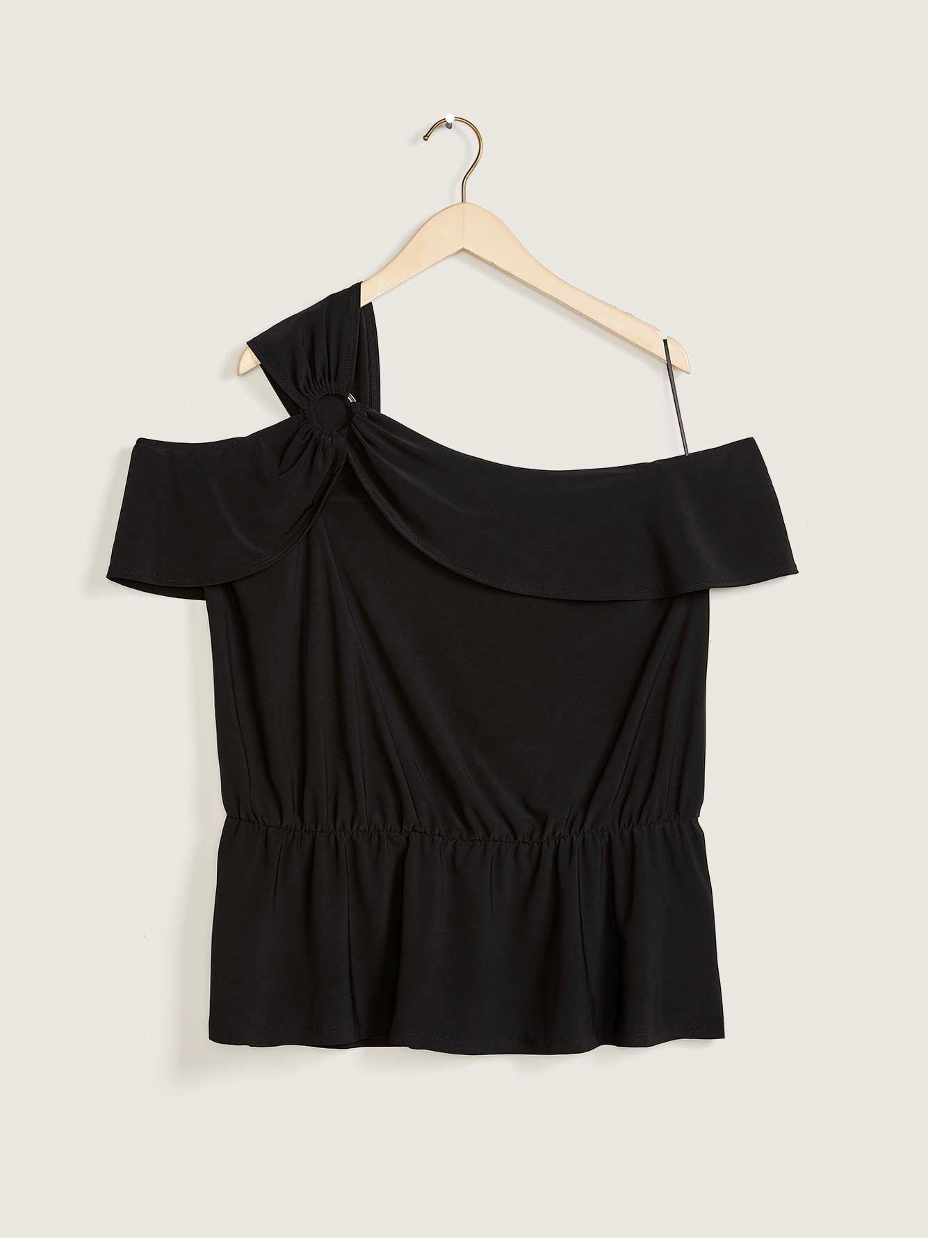 Asymmetrical Off-the-Shoulder Top - Love & Legend