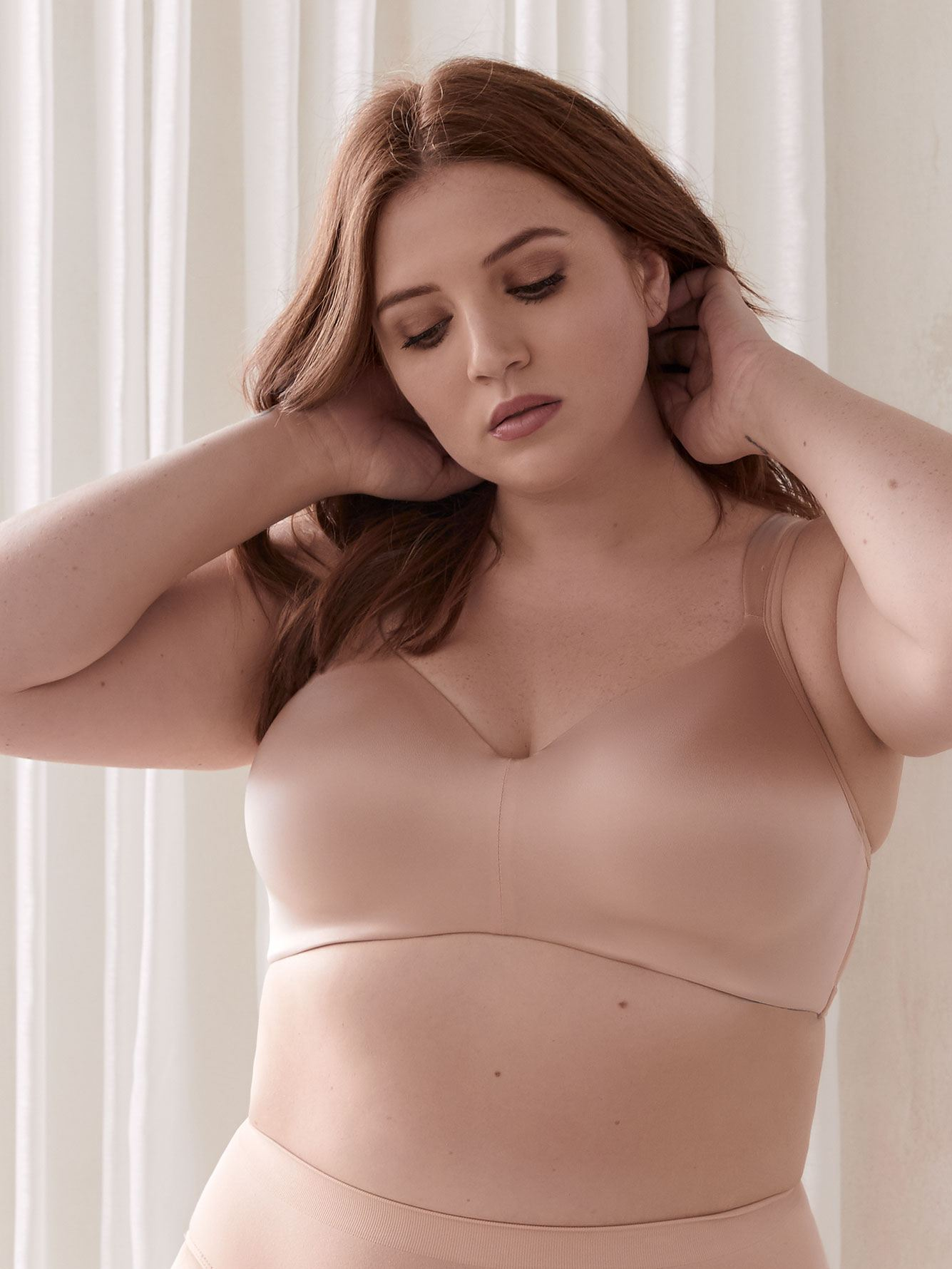Padded Wirefree T-Shirt Bra, G & H Cups